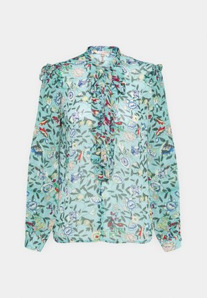BLOUSE FLOWER GARDEN  - Blouse - green