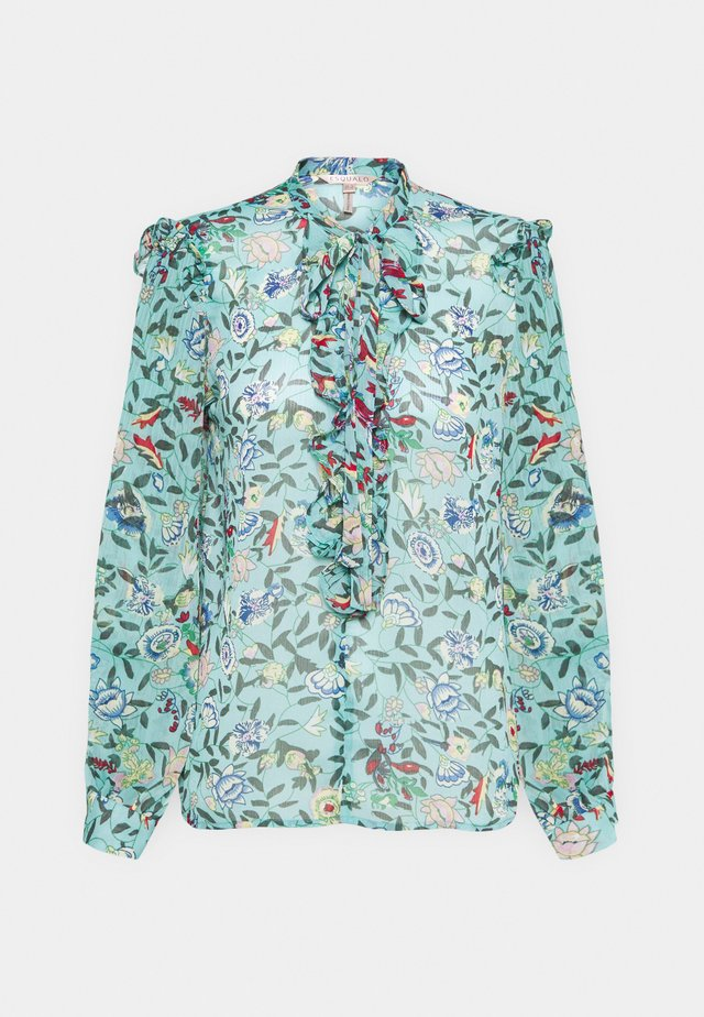 BLOUSE FLOWER GARDEN  - Bluser - green