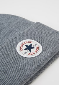 Converse - CHUCK PATCH TALL BEANIE - Beanie - vintage grey heathered - 5