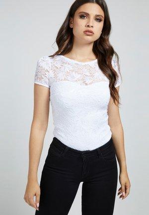 AURORA - Print T-shirt - weiß