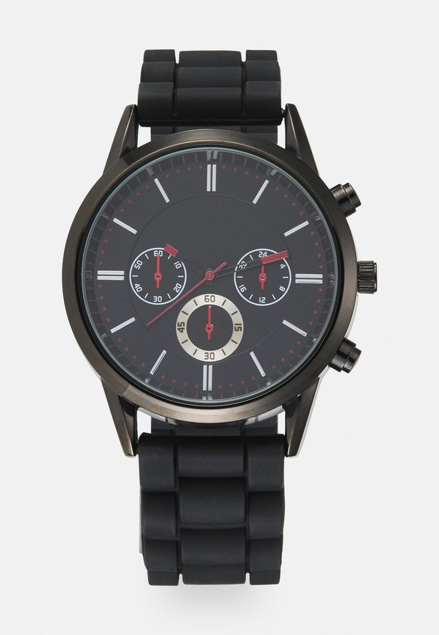 Reloj - black/red