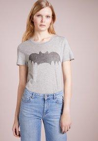 Zoe Karssen - T-shirt print - grey heather - 0