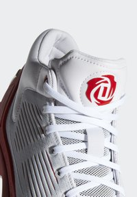 adidas Performance - D ROSE 10 SHOES - Basketball shoes - grey/red/white - 7