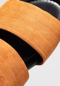 Monki - HANNA - Pantofle - brown - 2
