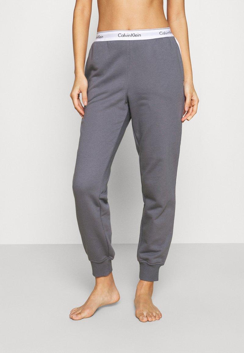 Calvin Klein Underwear - MODERN LOUNGE - Pyjamahousut/-shortsit - pewter