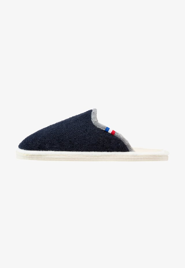 CHALET CHAUSSON - Slippers - marine/gris