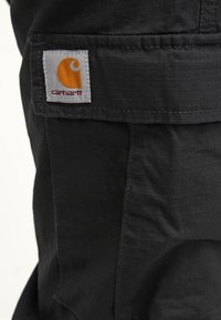 Carhartt WIP - AVIATION PANT COLUMBIA - Bojówki - black rinsed - 5