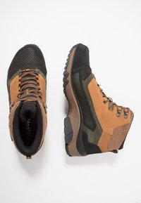 Haglöfs - SKUTA MID PROOF ECO MEN - Hiking shoes - oak/deep woods - 1