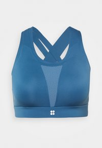 ALL TRAIN SPORTS BRA - Sports bra - stellar blue
