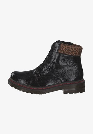 Bottines à lacets - blackleo-nuss