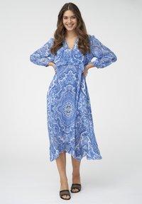 Dea Kudibal - FERNANDA - Vapaa-ajan mekko - paisley blue - 0