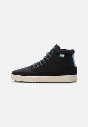 JAMESON - High-top trainers - black/blue