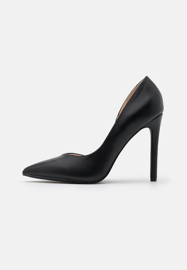 WIDE FIT PIETRA - Zapatos altos - black