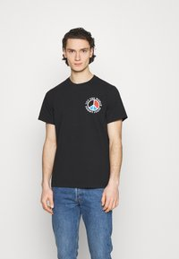 Tommy Jeans - LUV THE WORLD TEE - Print T-shirt - black - 2