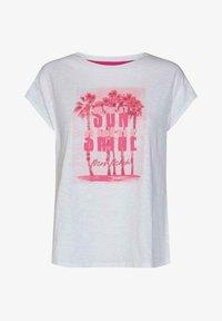 Mos Mosh - Print T-shirt - white - 0