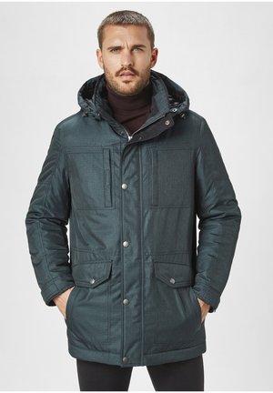 Winter coat - ocean blue