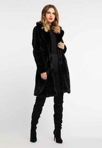 faina - Winter coat - black - 1