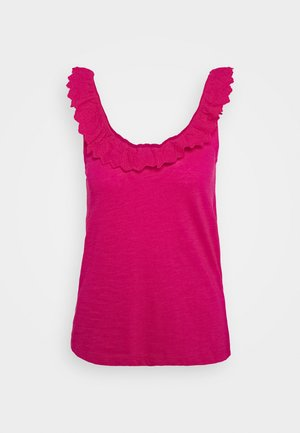 Top - fuchsia