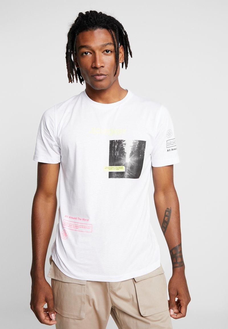 Piazza Italia - T-shirts print - white