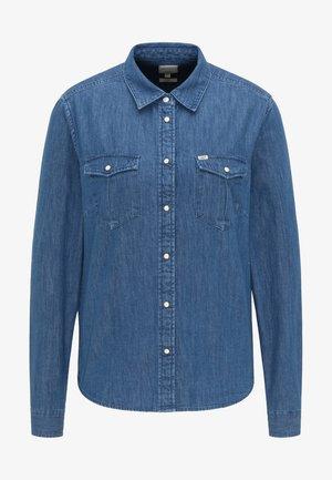 REGULAR WESTERN  - Button-down blouse - piscine