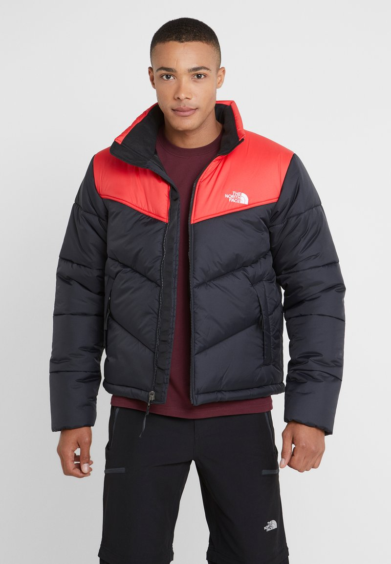 The North Face - JACKET - Winterjas - black/red