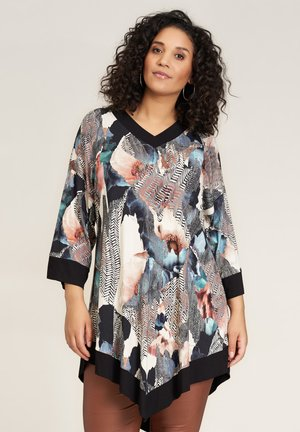 Jersey dress - multi printed