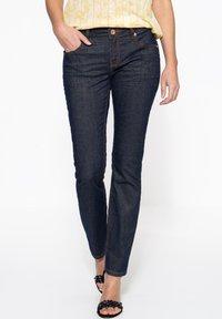 Amor, Trust & Truth - IN GLITZEROPTIK BEL - Slim fit jeans - dunkelblau - 0