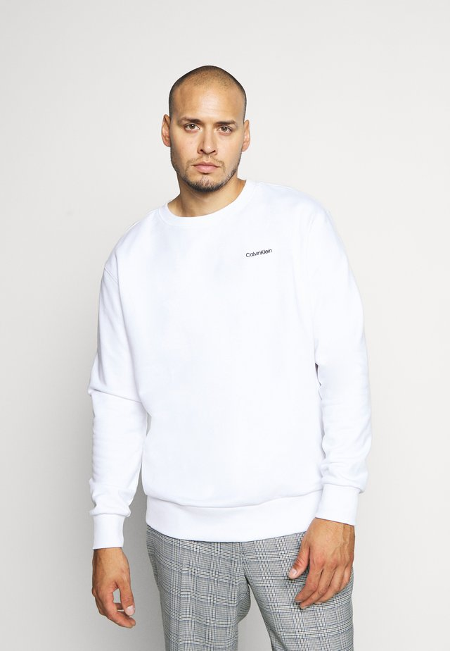 LOGO EMBROIDERY - Sweatshirt - white