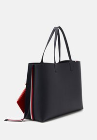 Tommy Hilfiger - ICONIC TOTE SIGNATURE SET - Shoppingveske - blue - 1