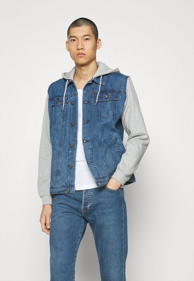 YETO JACKET - Giacca di jeans - blue