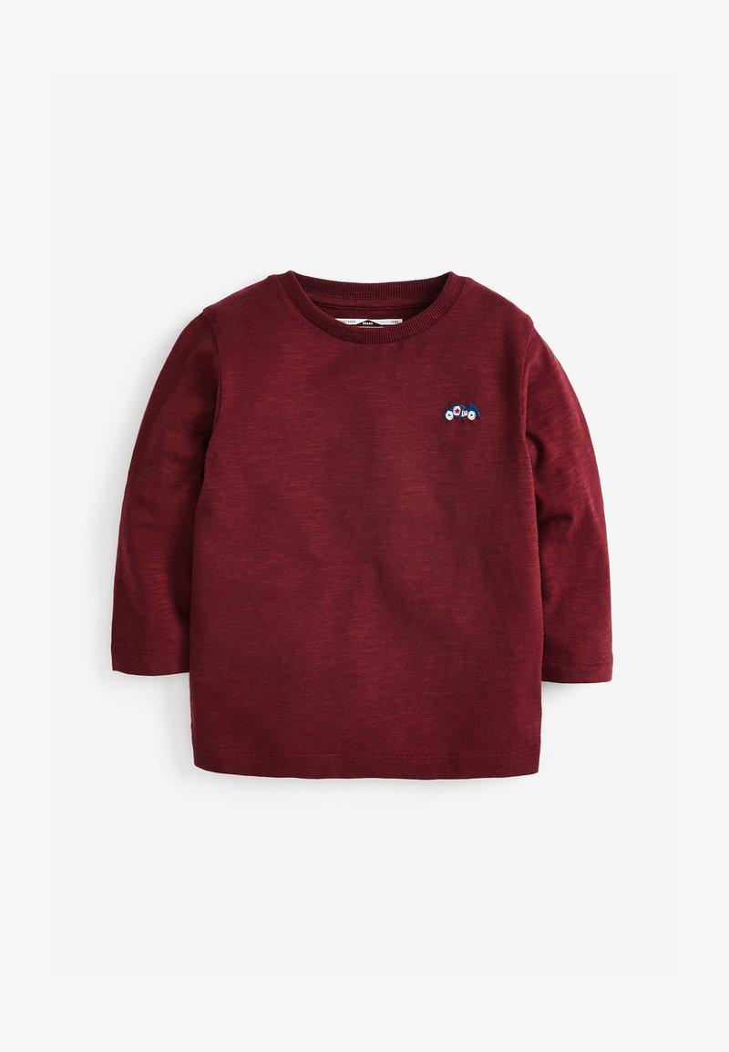 Next - Long sleeved top - dark red