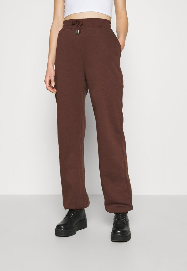 PERFECT SLOUCHY PANTS - Træningsbukser - brown