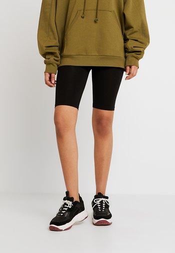 ONLLIVE LOVE CITY 2 PACK - Shorts - black/black