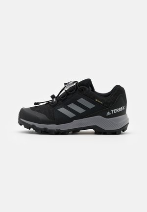 TERREX GTX UNISEX - Hiking shoes - core black/grey three