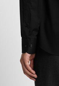 Eterna - SLIM FIT HAI - Formal shirt - black - 4