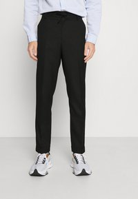 Isaac Dewhirst - LIGHTWEIGHT & DRAWCORD TROUSERS - Pantalon classique - black - 4