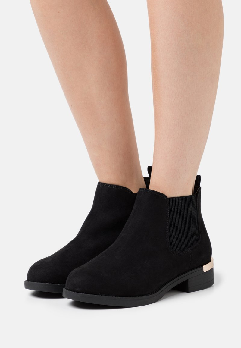 New Look Wide Fit - WIDE FIT BECCA CHELSEA - Ankle boots - black