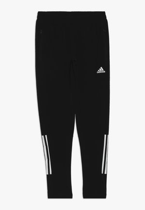 SLIM  - Pantalones deportivos - black/white