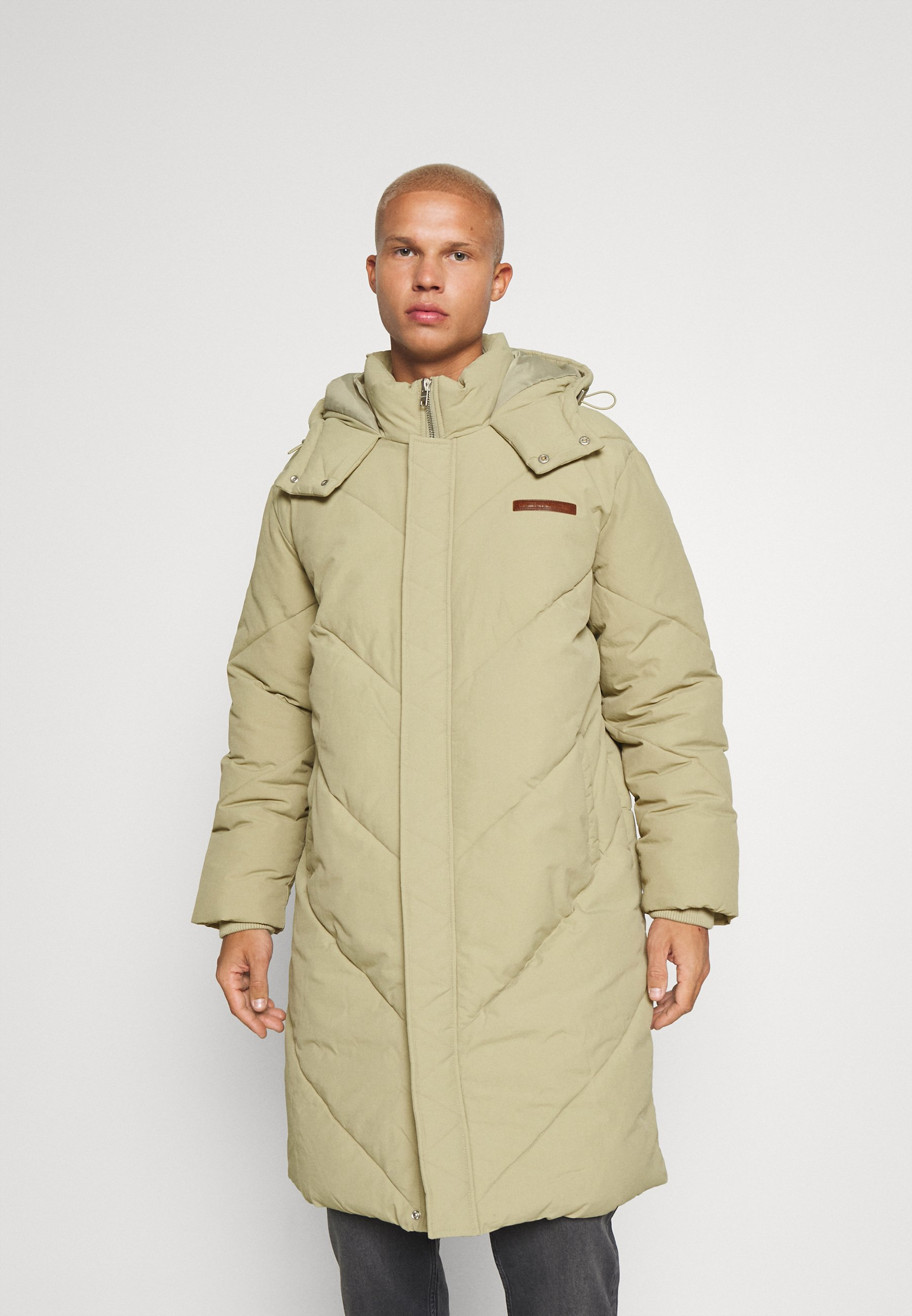 Uomo EVIAN QUILTED MID LENGTH PUFFER JACKET UNISEX - Giacca invernale