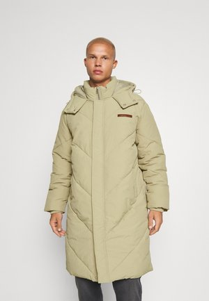 EVIAN QUILTED MID LENGTH PUFFER JACKET UNISEX - Winterjas - light brown