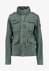 Superdry - KIONA ROOKIE POCKET JACKET - Summer jacket - green - 3
