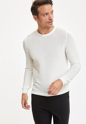 JUMPER - Neule - white