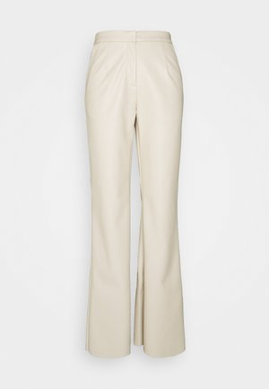 SHAPED PANTS - Trousers - beige