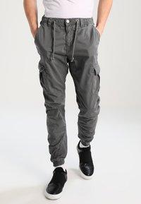 Urban Classics - JOGGING - Cargo trousers - darkgrey - 0