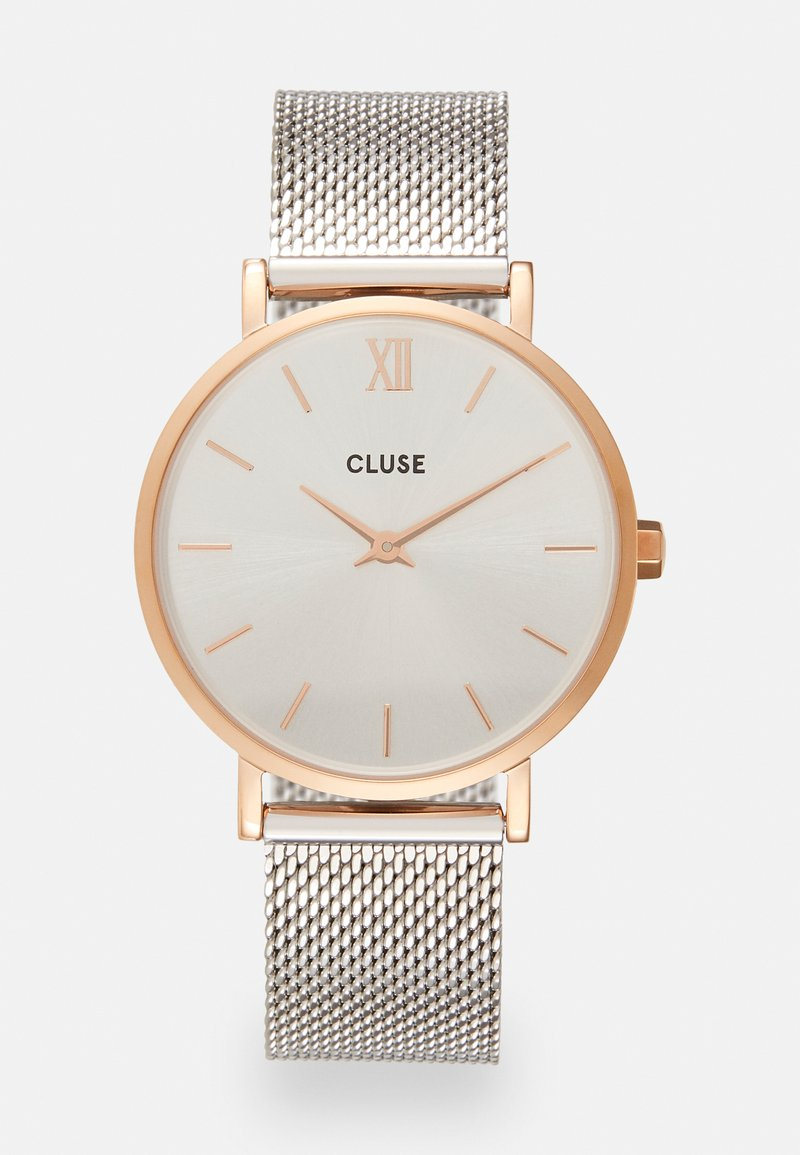 Cluse - MINUIT - Watch - rose gold-coloured/silver-coloured