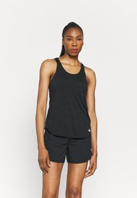 Nike Performance - BREATHE TANK COOL - Débardeur - black/reflective silver - 0