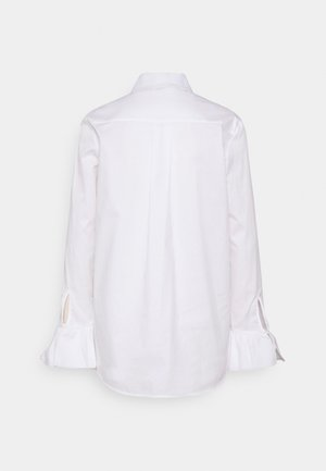 FLOUNCE CUFF ORGANIC SHIRT - Paitapusero - white