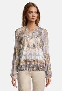 Betty Barclay - Long sleeved top - blau beige - 0