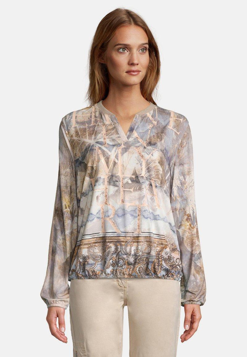 Betty Barclay - Long sleeved top - blau beige
