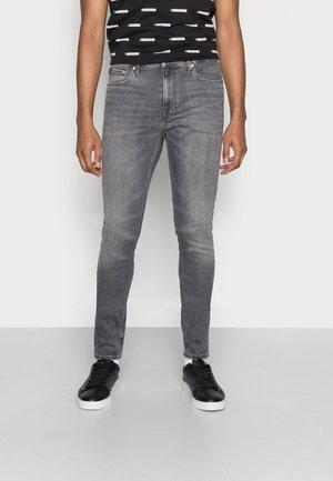 SUPER SKINNY - Skinny džíny - denim grey